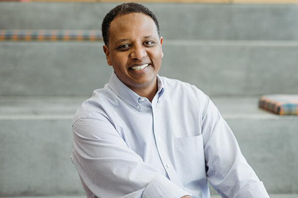 Chief technology officer, Teddy Bekele