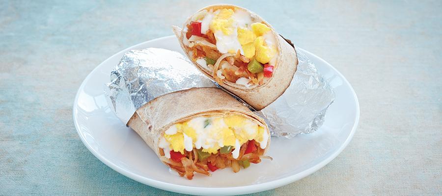 Recipe Image: Breakfast Burrito