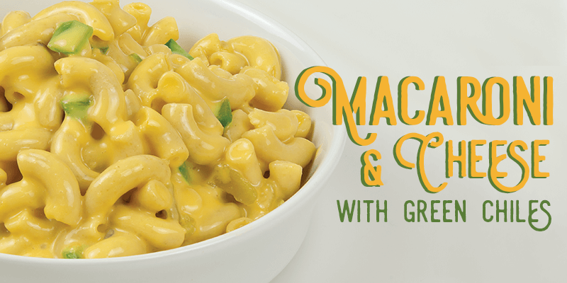 Mac and cheese with green chiles recipe | Land O'Lakes Foodservice