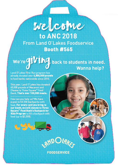Three Square Food Bank and Land O'Lakes Fill the Backpack Partnership Summary