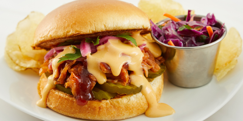 Jack Fruit BBQ Sandwich | Sandwich and Burger Collection | Land O'Lakes Foodservice