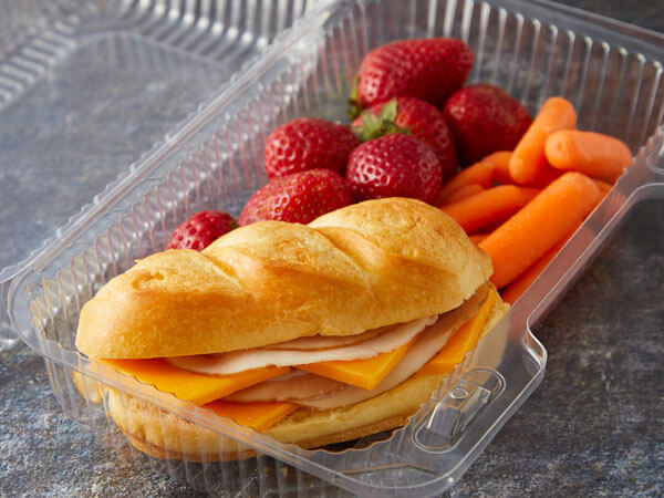 Land O'Lakes Foodservice |K-12 Deli Hoagie with Cracker Cuts