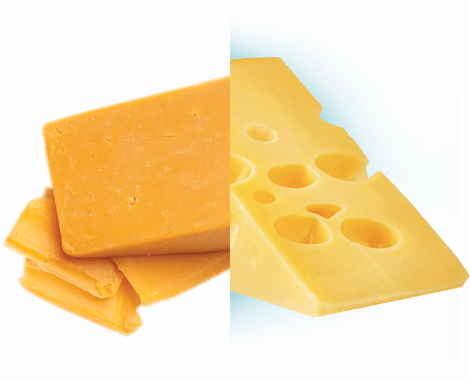 natural cheese product