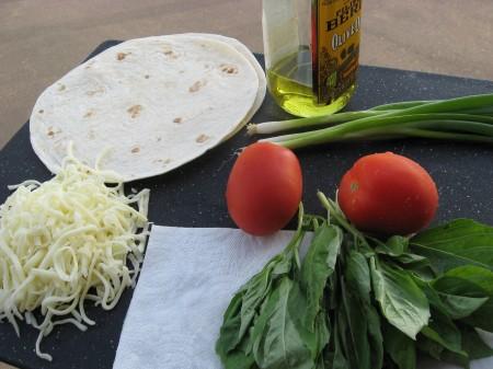 Grilled Pita Ingredients