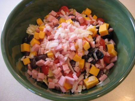 Pasta Salad Mixture