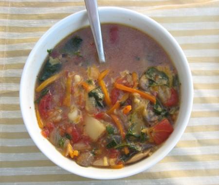 Seven Vegetable Soup