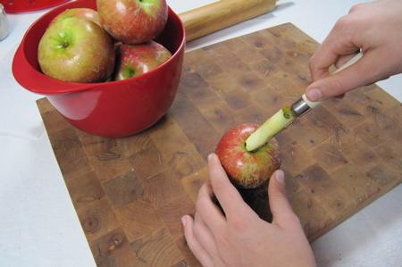 coring-apples