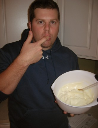Whipped Cream Sneak