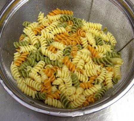 Drain Noodles