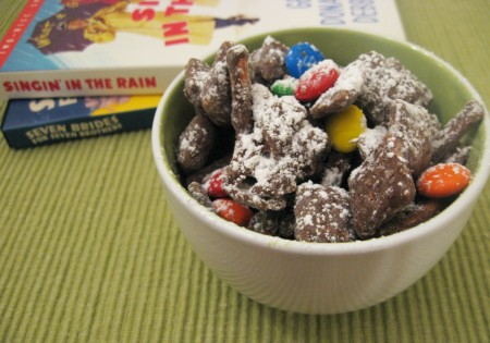 Snack mix, ready to eat!