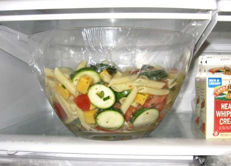 Cover and Refrigerate 1