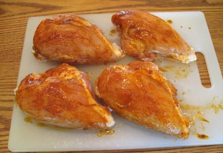 6 brush chicken 1