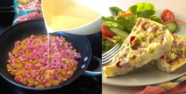 Egg Frittata Preview