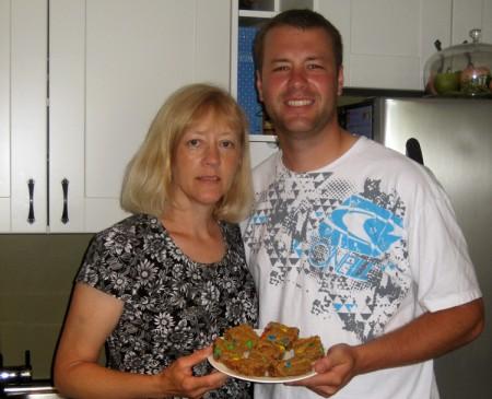 Nick and Mom 1