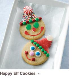 Happy Elf Cookies