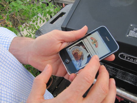 Recipe on Smart Phone