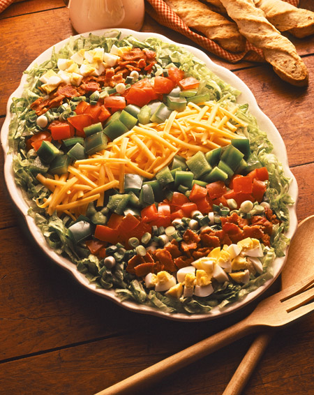 cheddar cheese cobb salad