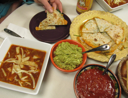 taco toppings, tortilla soup, Mexican