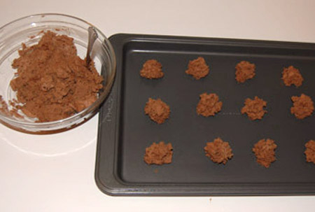 cookie, dough, baking sheet, chocolate cookies