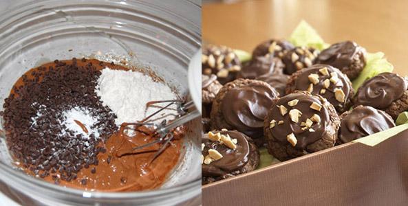 ingredients, chocolate, cookies