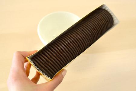 chocolate wafer, cookies, box