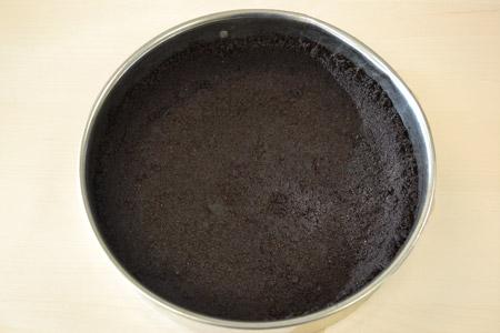 cheesecake crust, springform pan, chocolate