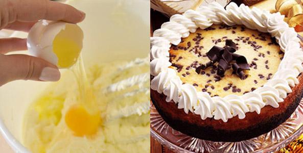 eggs, cheesecake, Irish