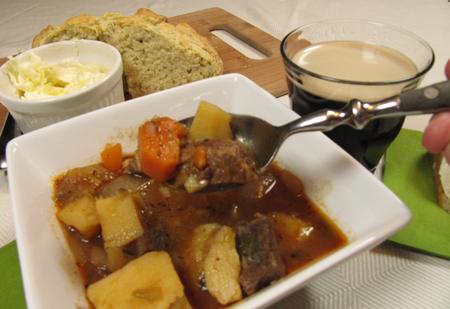 Irish, stew, soda bread