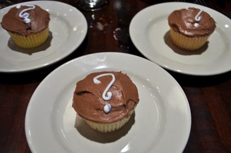gender reveal, cupcakes, baby