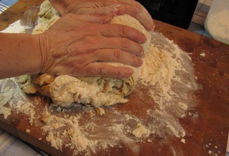 knead, dough, donut