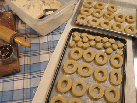 donut, dough, cover