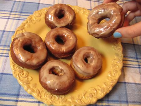 glazed, donut, doughnut