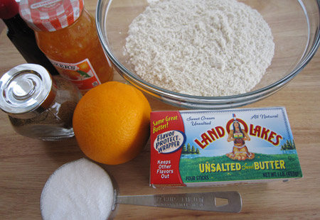 ingredients, unsalted butter, shortbread