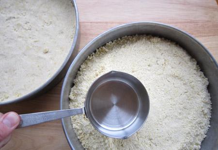 pan, press, crust