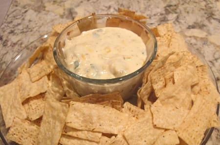 microwave, cheese, dip