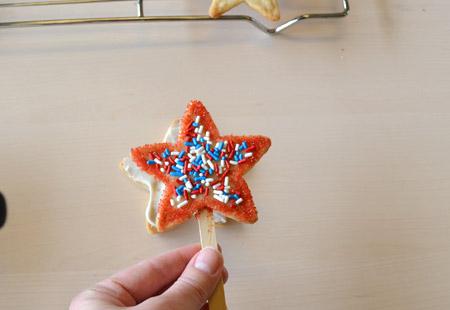 cookie, pop, stick