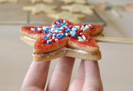 sandwich, cookie, decorate