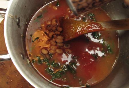 peas, broth, soup