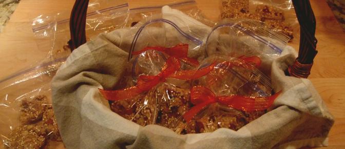 Final Bags of Granola