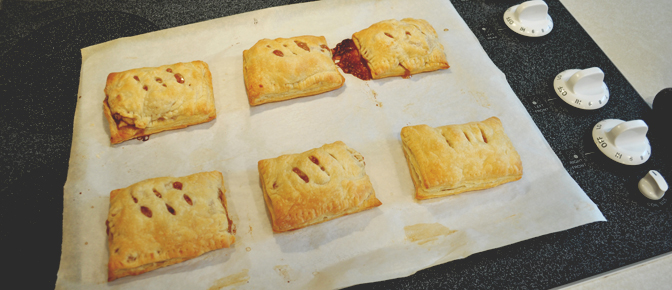 Pies on Cooling Rack