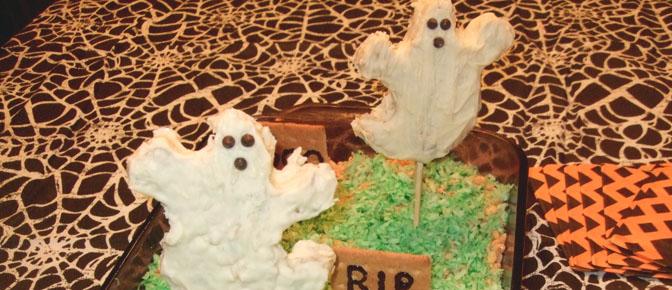 Final Ghosts in Graveyard