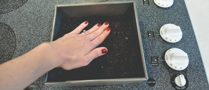 Hand Pressing Crust