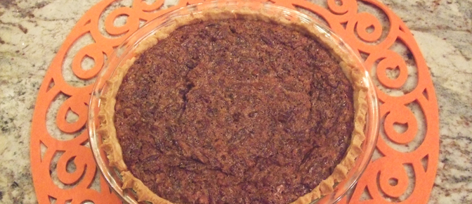 Finished Pecan Pie