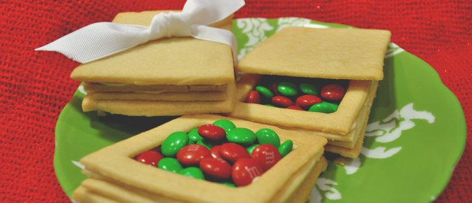 Cookie Boxes Filled with Candies