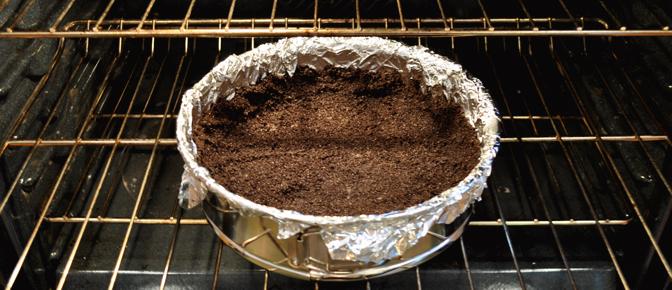 Bake Crust in Oven
