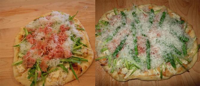 Add Prosciutto and Cheese