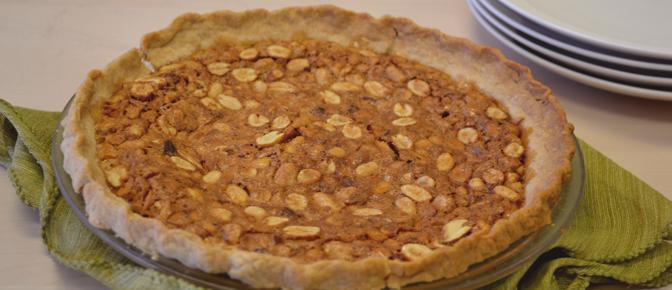 Baked Peanut Pie