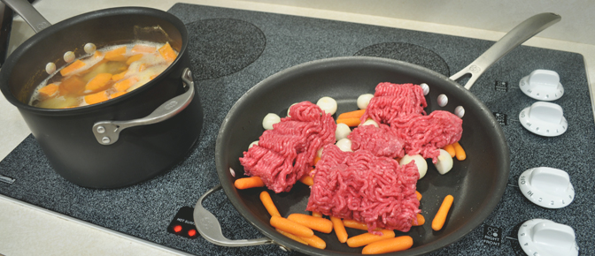 Beef Carrots and Onions