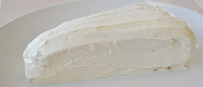 Frosting Covered Cake