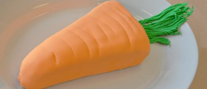 Final Fondant Carrot Cake